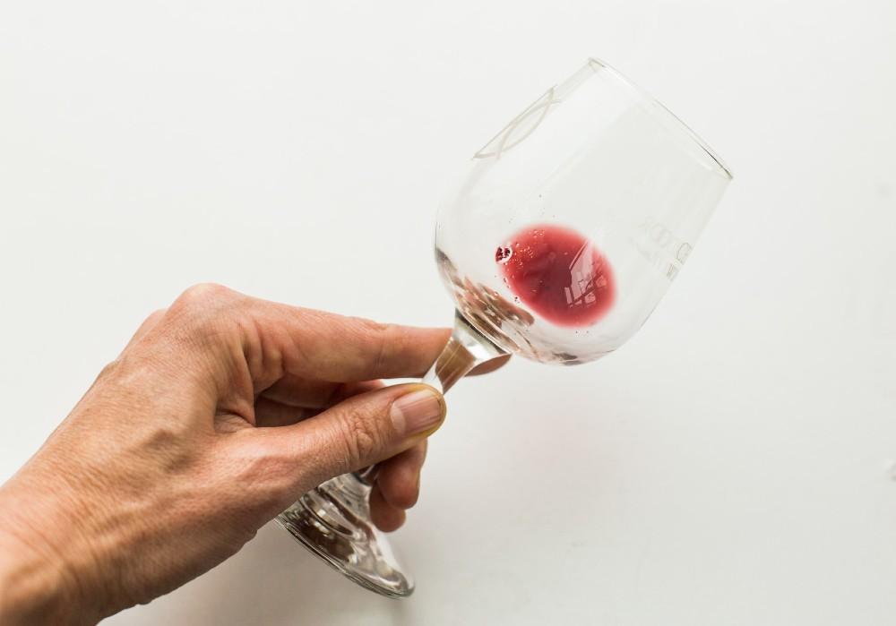 Sedimentos no Vinho