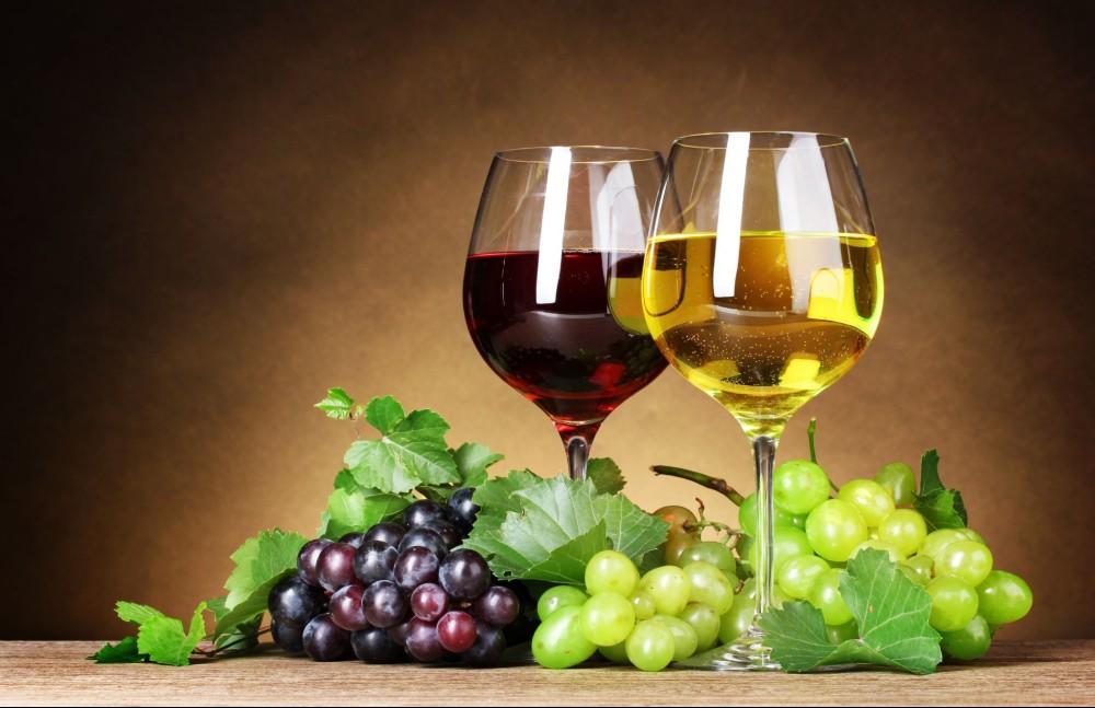 Vinho Tinto e Vinho Branco
